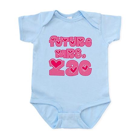 Future Mrs. Zac Infant Bodysuit