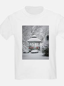 Gazebo in the Snow T-Shirt