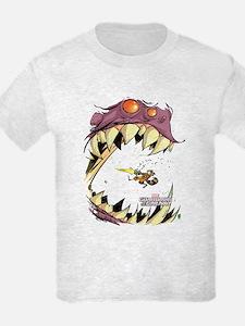 GOTG Comic Rocket Big Mouth Mon T-Shirt