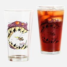 GOTG Comic Rocket Big Mouth Monster Drinking Glass
