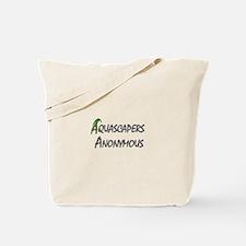 Aqua Anon Tote Bag