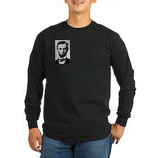 Unique Lincoln quote T