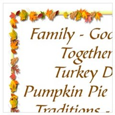 THANKSGIVING BLESS FROM GOD Poster