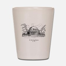 UVA Rotunda Artwork Shot Glass