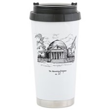 UVA Rotunda Artwork Travel Mug
