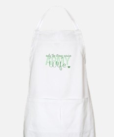 Army Wife BBQ Apron