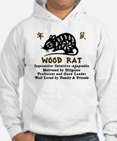 Chinese Zodiac Wood Rat Jumper Hoody