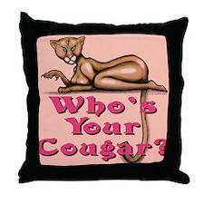Funny Older women Throw Pillow