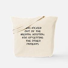 Mental Hospital Tote Bag