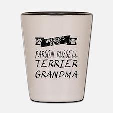 Worlds Best Parson Russell Terrier Grandma Shot Gl