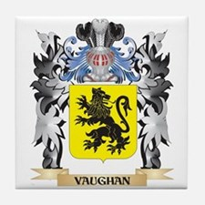 Vaughan Coat of Arms - Family Crest Tile Coaster
