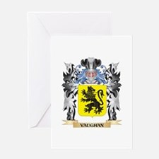 Vaughan Coat of Arms - Family Crest Greeting Cards