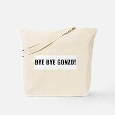 Bye bye Gonzo Tote Bag