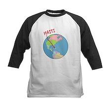 Haiti Map Tee