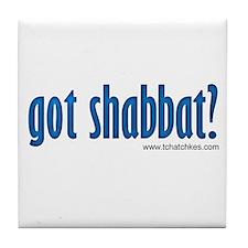 Got Shabbat? Tile Coaster