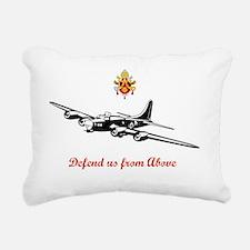 Benedcit  Rectangular Canvas Pillow