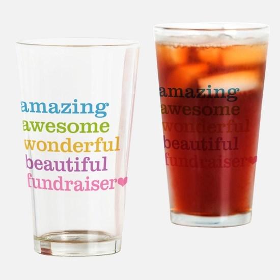 Amazing Fundraiser Drinking Glass