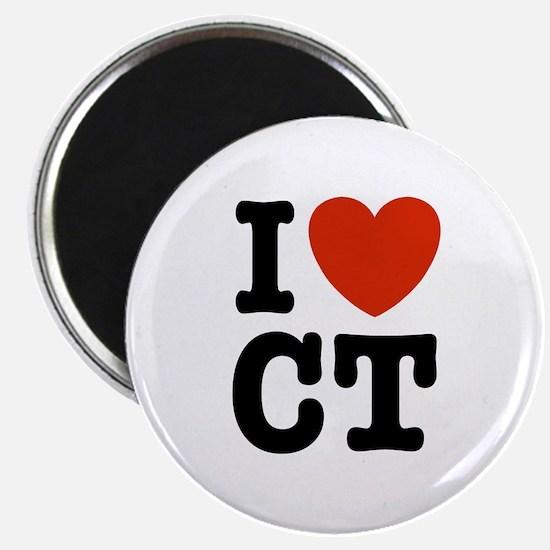 I Love CT Magnet