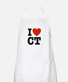 I Love CT BBQ Apron