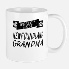Worlds Best Newfie Grandma Mugs