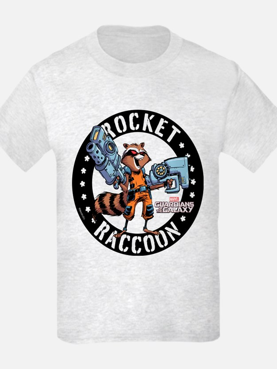 GOTG Comic Rocket Guns T-Shirt