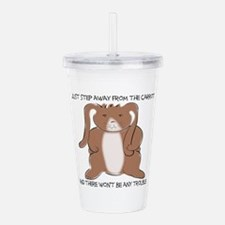 carrottrouble.png Acrylic Double-wall Tumbler