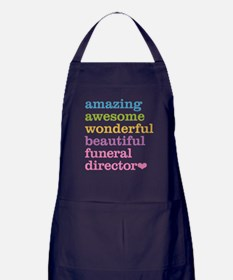 Amazing Funeral Director Apron (dark)
