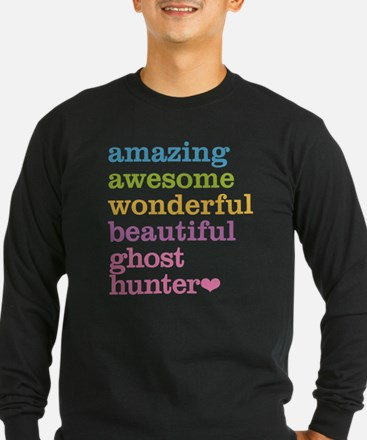 Amazing Ghost Hunter Long Sleeve T-Shirt