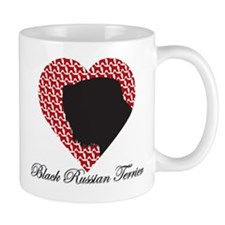 BLACK RUSSIAN TERRIER Mugs