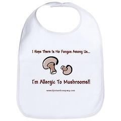 Mushroom Allergy Bib