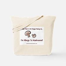 Mushroom Allergy Tote Bag
