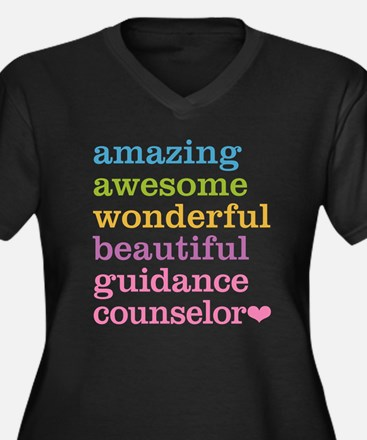 Amazing Guidance Counselor Plus Size T-Shirt