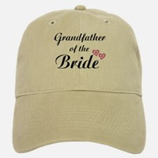 Grandfather of the Bride Baseball Baseball Cap