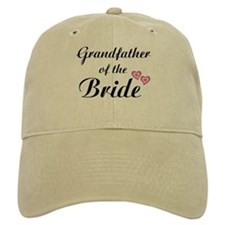Grandfather of the Bride Baseball Cap
