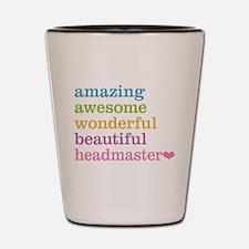 Amazing Headmaster Shot Glass