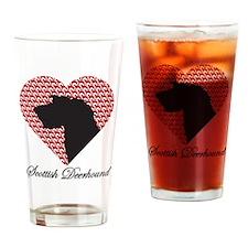 SCOTTISH DEERHOUND Drinking Glass