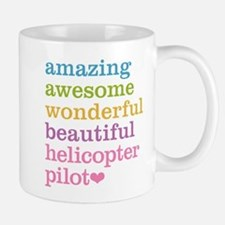 Amazing Helicopter Pilot Mugs