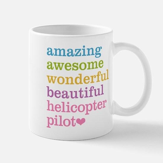 Amazing Helicopter Pilot Mugs