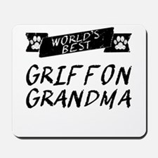 Worlds Best Griffon Grandma Mousepad