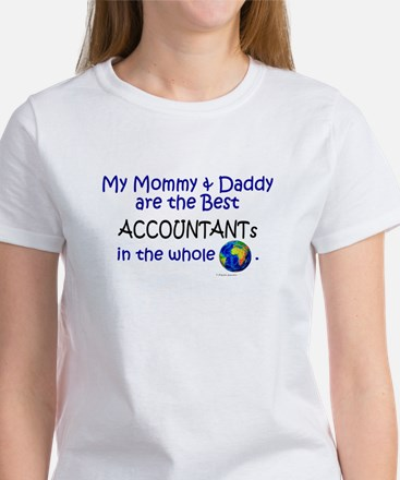 Best Accountants In The World Women's T-Shirt