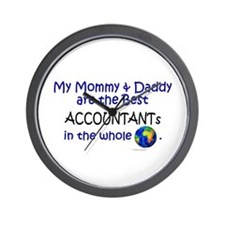 Best Accountants In The World Wall Clock