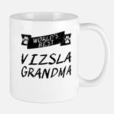 Worlds Best Vizsla Grandma Mugs