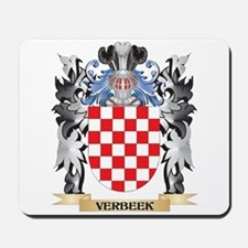 Verbeek Coat of Arms - Family Crest Mousepad