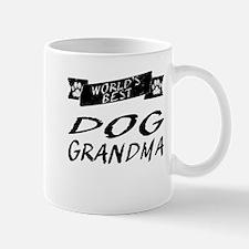 Worlds Best Dog Grandma Mugs