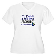 Best Architect In The World (Daddy) T-Shirt