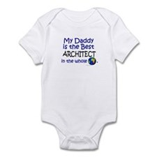 Best Architect In The World (Daddy) Infant Bodysui
