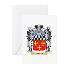 Verity Coat of Arms - Family Crest Greeting Cards