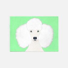 Poodle 5'x7'Area Rug