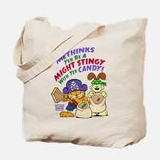 Garfield Stingy Candy Tote Bag