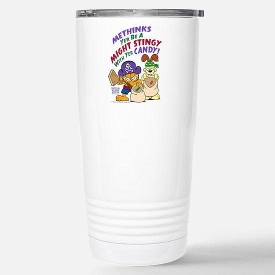 Garfield Stingy Candy Travel Mug